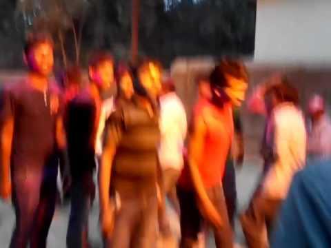 Kasmar garri sarswati puja dance bhashan