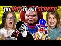 Kids React To Try Not To Get Scared Challenge #2