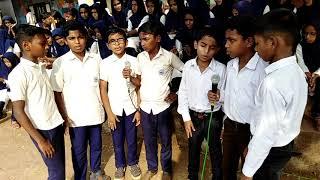 ദേശഭക്തി ഗാനം | വരിക വരിക സഹചരെ | ghss kottappuram students