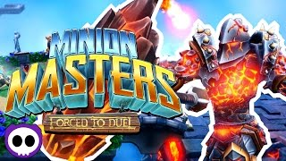TOWER DEFENSE STRATEGY CARD GAME! ✪ Minion Masters Forced to Duel Gameplay | Scythe Plays