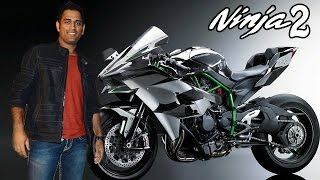 MS Dhoni - The First Owner Of Kawasaki Ninja H2 In India