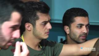 ضرب محمد عباس ورافاييل جبور ينقلب عليهما- 28-10-2015