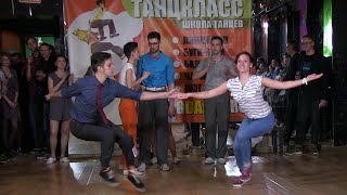 Boogie Woogie Contest Winner's Dance at Russian Swing Dance Championship 2015