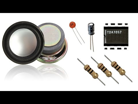 How to make a Amplifier (5v 1w)