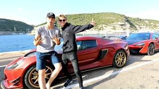 CORSICA PHOTO CHALLENGE WITH SUPERCARS!