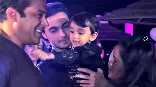 Salman Khan Nephew Ahil Sharma 2nd Birthday Party In Abu Dhabi
