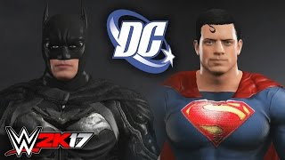 WWE 2K17: Batman vs Superman!