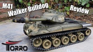 IRL || M41 Walker Bulldog RC Tank Review || By Torro-Shop
