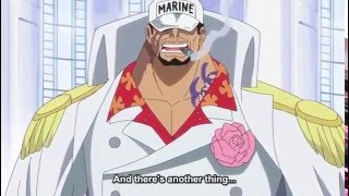 Akainu Reacts to Monkey D Luffy Defeating War lord Doflamingo