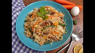 দেশি স্টাইলে রান্না নুডুলস || Bangladeshi Style Noodles with Egg, Vegetable and meat