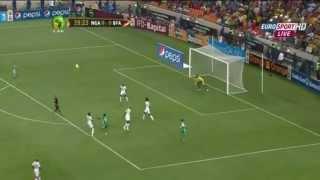 Sunday Mba game winner Nigeria v Burkina Faso AFCON 2013 Finals