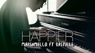 HAPPIER - Marshmello ft. Bastille (Piano Cover) | Costantino Carrara