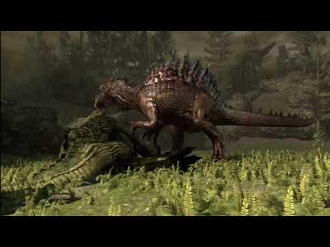 Jurassic The Hunted HD Playthrough Part 12 Spinosaurus Boss Fight