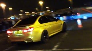 BMW M3 F80 - STREET DRIFTING DONUTS