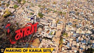 Making of Kaala Sets - A Real Dharavi | Rajinikanth | Pa Ranjith | Santhosh Narayanan | Dhanush