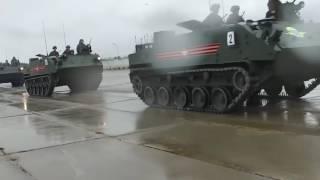 استعداد طواقم المعدات العسكرية للمشاركة في عرض عيد النصر (فيديو وزارة الدفاع الروسية)
