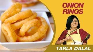 Onion Rings Snack Recipe by Masterchef Tarla Dalal
