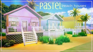 """Pastel Beach Houses 