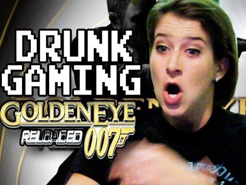 Drunk Gaming Goldeneye Reloaded
