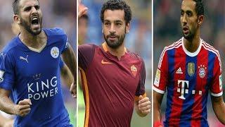 اختيار احسن 10 لاعبين عرب 2016