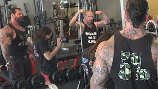 Filming a Rich Piana Video with Jim Arrington #3