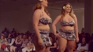 Fashion Week Plus Size 2017   Ladies Fashion Plus Size Lingerie Try On Haul   Fashion Show