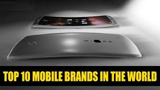 Top 10 Mobile Companies in the World | Smartphone Brand Ranking