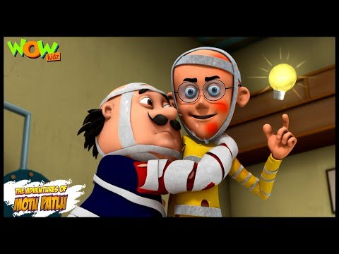 Chand pe Makaan - Motu Patlu in Hindi - 3D Animation Cartoon for Kids -As seen on Nickelodeon