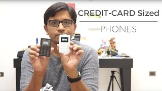 Credit-Card Sized Phones - Less than Rs 1,000