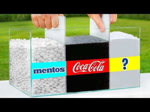 Ultimate Coca Cola vs Mentos Experiment