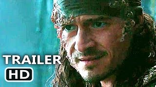 PIRATES OF THE CARIBBEAN 5 Will Turner Trailer (2017) Dead Men Tell No Tales, Disney Movie HD