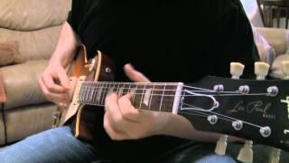 The Girl I Love She Got Long Black Wavy Hair on a 2003 Gibson Les Paul Stinger R0