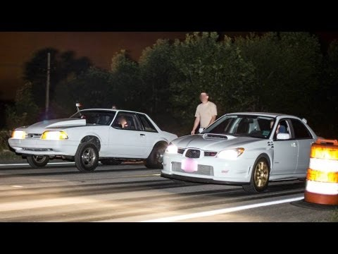 600 1100 HP Cars STREET RACING Mini Cash Days 2013