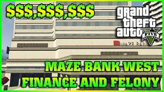 MAZE BANK WEST   Finance and Felony   GTA 5 Online DLC