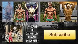 Lifestyle Transformation - DJ to Fitness Model - Zac Aynsley 2011 - 2016