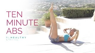 10 Minute Abs | Rebecca Louise