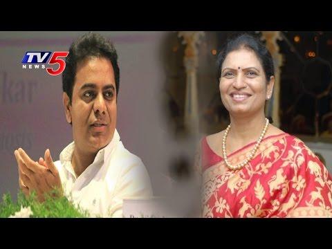 DK Aruna Meets KTR , Why?? | TS Cabinet Meet | TS New Districts | TV5 News