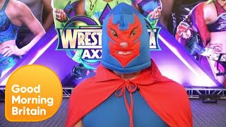 WWE Superstars Paige, Roman Reigns and Sheamus Talk Wrestlemania 34! | Good Morning Britain