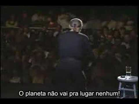 George Carlin Save the planet portuguese subtitles