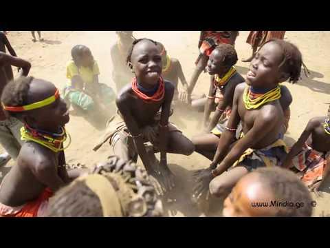 Dassanach tribe. Ethiopia . VIDEO by Mindia Midelashvili 2013