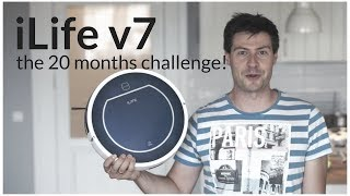 iLife V7 - a robotic vacuum cleaner after 20 months of usage