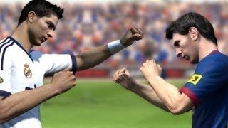 Cristiano Ronaldo vs Messi - Fight (FIFA)