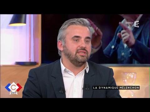 La dynamique Mélenchon - C à vous - 27/03/2017