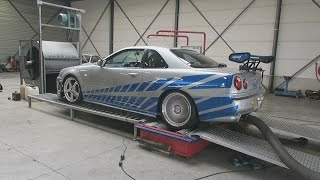 HOW FAST & FURIOUS IS IT?!!  ( Dyno + Best trafficpolice reaction ever)