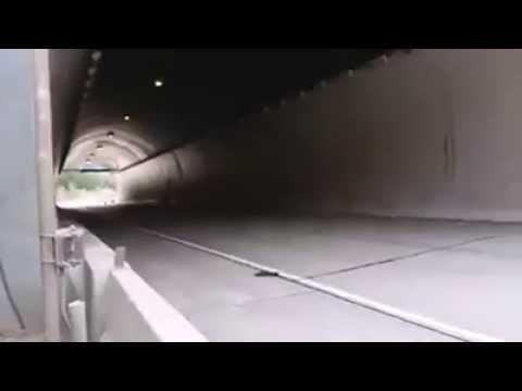 Yamaha R6 Tünelden Geçiş