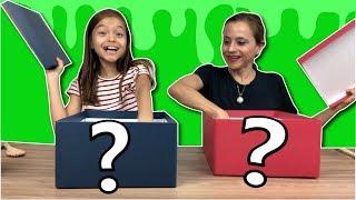 DESAFIO DO SLIME COM TROCA DE CAIXA MISTERIOSA!!! ★ Mystery Box Slime Switch-up Challenge!!