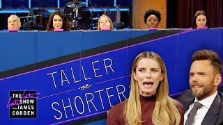Taller or Shorter w/ Joel McHale & Betty Gilpin