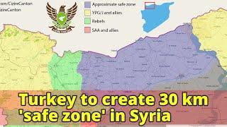 Turkey to create 30 km