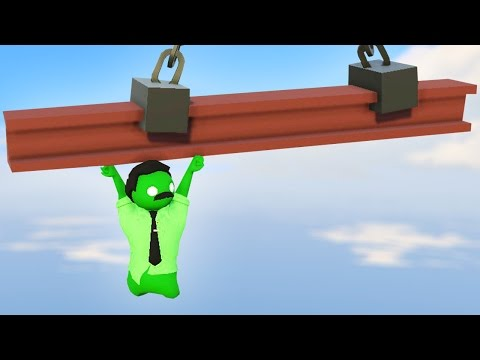 WHO CAN HANG ON THE LONGEST Gang beasts Multiplayer