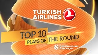 Turkish Airlines EuroLeague Round 2 Top 10 Plays